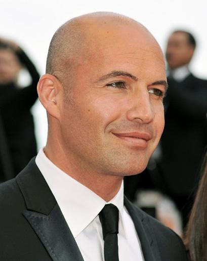 balding young guy naked